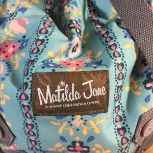 Matilda Jane hobo book bag